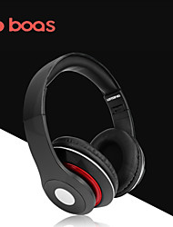 Boas Protable Bluetooth Headset Stereo Headset Free Music with TF Card Player