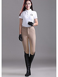 Men & Wome Riding Breeches Half Leather Breeches Jodhpurs Equestrian Knight Products