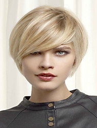 Fashion  Blonde Short  Syntheic  Wig Extensions Women Lady Style