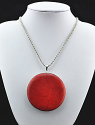 Jewelry Pendant Necklaces / Vintage Necklaces Party / Daily / Casual / Sports Alloy / Turquoise 1pc Women Wedding Gifts