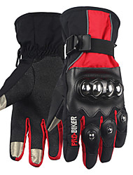 Touch Screen Gloves Motorcycle Riding Warm Protective Full Finger Gloves Winter Windproof Waterproof Snow Skiing