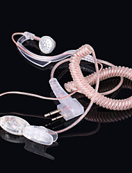 baiston BST-m fone de ouvido profissional para walkie talkie - transparente (130 centímetros-cabo)