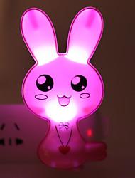 a economia de energia coelho dos desenhos animados levou-operado luz modalidade noite lâmpada de luz