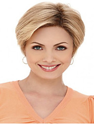 Charming Product Blonde Short Straight  Hair Syntheic  Wig