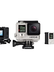 GoPro HERO 4 SILVER Action Kamera / Sport-Kamera 12MP Wasserdicht / Bluetooth / Kabellos / LED / Wifi 60fps / 120fps 1.5 CMOS 64 GB