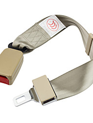 dearroad asiento de coche del cinturón de seguridad extensor extensión 90-135cm / 36-54inch hebilla de cinturón de seguridad más largo
