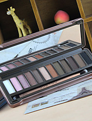 1Pcs Quality Goods You Through GUETOU Changed 12 Colors Eye Shadow The Earth Color Naked Makeup Eye Shadow Box