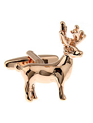 Christmas reindeer French shirt cufflinks cuff nail