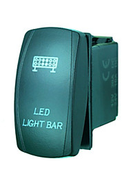 iztoss laser 5pin conduit interrupteur à bascule de la barre de lumière de rabais sur-conduit de lumière 20a bleu 12v avec des fils à