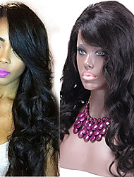 High Quality African American Lace Wigs Unprocessed Virgin Body Wave Human Hair Wig Glueless Full Lace Human Hair Wigs