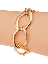 Fashion Irregular Chain Alloy Bracelet