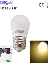 Lampadine globo LED 6 SMD 5730 YouOKLight B E26/E27 3 / 5 W Decorativo 260 LM Bianco caldo 1 pezzo AC 220-240 / AC 110-130 V