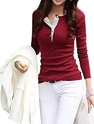 Women's Slim Long Sleeve T Shirt