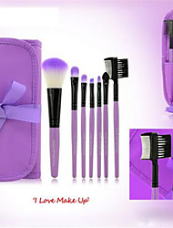 7 Makeup Brushes Set Nylon Face / Lip / Eye Others