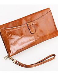 Minaudière / Portefeuille / Etui à Carte & Pièce d'Identité / Porte-chéquier / Mobile Bag Phone - Double Portefeuille -Bleu / Vert /