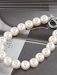 Korean  sweet Contracted Simple  Pearl Bracelet