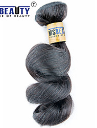 """1 pc / lot 12 """"-30"""" 6a malaysisches reines Haar lose Welle Menschenhaareinschlagfäden 100% unverarbeitetes malaysischer remy Haar spinnt"""