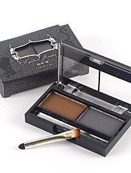 Clever Cat ® Two Color Lasting Nature Waterproof Eyebrow Powder