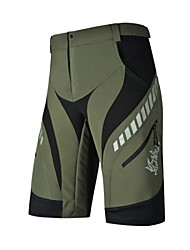 NUCKILY® Cycling Shorts Men'sWaterproof / Breathable / Quick Dry / Windproof / Anatomic Design / Ultraviolet Resistant / Moisture