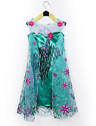 Cosplay - Bleu / Vert - Costumes de cosplay - Frozen - pour Enfant