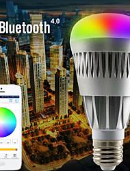 smart contrôle bluetooth app de téléphone conduit rgb et ampoule warmwhite