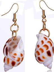 Drop Earrings Alloy Fashion Screen Color Jewelry 2pcs