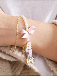 Fashion Jewelry Popular Rose Pearl Bracelet