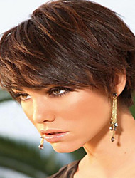 Brown Color Charming Short  Syntheic  Wig To European Women Lady