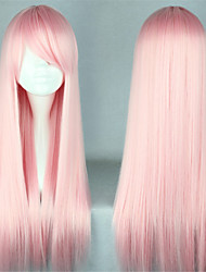 Lolita Wigs Sweet Lolita Princess Long Pink Lolita Wig 70 CM Cosplay Wigs Solid Wig For Women