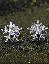 Bruiloft / Feest / Dagelijks - Oorknopjes ( Sterling zilver , Zilver )