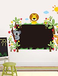 Animales / Botánico / Caricatura / Romance / Pizarra / De moda / Día Festivo / Paisaje / Formas / Fantasía Pegatinas de paredAdhesivos de