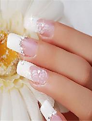 White diamond nail art supplies DIY nail accessoriesX