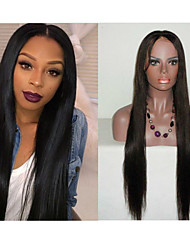 "10""-30"" Straight Full Lace Human Hair Lace Wigs Glueless Full Lace Front Wigs  Brazilian Virgin Hair Wigs"
