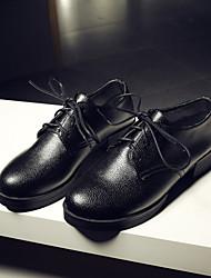 Scarpe Donna - Sneakers alla moda - Tempo libero / Formale / Casual - Plateau / Creepers / Punta arrotondata / Chiusa - Plateau -Finta