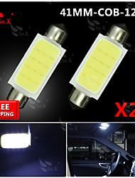 20x 42mm гирлянда высокой мощности SMD COB свет купола карту колбы лампы 211-2 578 212-2