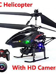 WL Toys S977 3.5 CH Remote Control Metal Gyro RC Helicopter With Camera