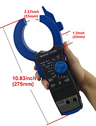 5999 Counts Auto Range Digital Clamp Meters 2000A AC Current True RMS HoldPeak HP-850A