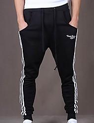 MEN - Pantaloni - Informale A vita medio-alta - Attivo Cotone