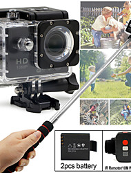 SDV-506 Sports Camera/Gopro Style Camera 2 12MP 1920 x 1080 CMOS 32 GB H.264Dutch / French / Spanish / Chinese / Japanese / English /