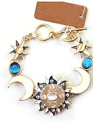 Fashion Jewelry High Quality Moon Sun Bracelet