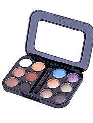 12 Eyeshadow Palette Matte / Mineral Eyeshadow palette Powder Normal Daily Makeup / Halloween Makeup / Party Makeup