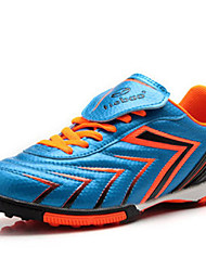 Zapatos Fútbol Sintético Azul / Amarillo / Rojo Hombre
