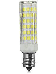 8W E14 LED лампы типа Корн B 75 SMD 2835 500-600 lm Тёплый белый / Холодный белый Декоративная AC 220-240 V 1 шт.