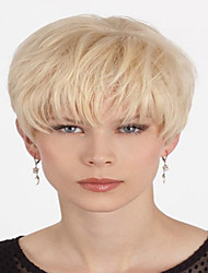 Новейшие расширения прибытия блондинка короткие прямые syntheic парик