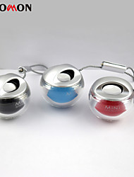 coloré lampe Bluetooth Speaker boule de cristal petit cylindre mini-portable
