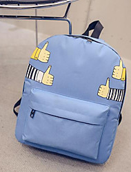 Women Canvas Weekend Bag Backpack - Pink / Purple / Blue / Green / Black