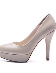 Черный / Зеленый / Розовый / Красный / Бежевый - Женская обувь - Свадьба / Для праздника / Для вечеринки / ужина - Дерматин - На шпильке -
