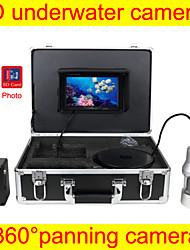 Fischfinder Unterwasser-Kamera 360 ° schwenken Kamera, breiter Betrachtungswinkel Unterwasserjagd-Kamera DVR-Funktion