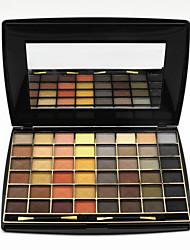 48 Colors Lidschattenpalette Matt Lidschatten-Palette Puder Set Smokey Makeup