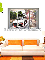 3D Wall Stickers Wall Decals, Cool Car Decor Vinyl Wall Stickers